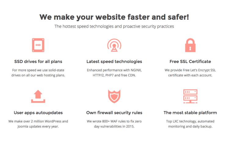 Website Security - Siteground